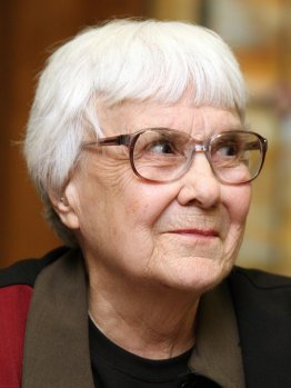 Harper Lee, author of To Kill a Mockingbird